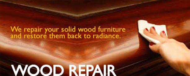 Wood Repair Banner